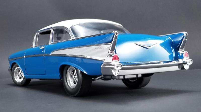 ACME 1957 Chevrolet Bel Air Hot Rod in Harbor Blue (New)