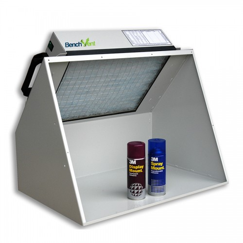 BenchVent BV200H - A2 Hooded Spray Booth