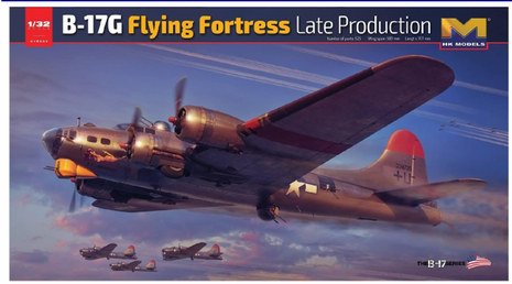 HK MODELS B-17G Flying Fortress Late Production