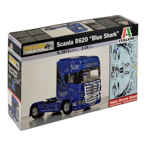 ITALERI SCANIA R620 BLUE SHARK