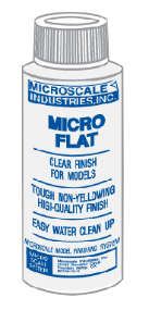Micro Coat Flat - 1 oz. bottle (Clear Flat finish)
