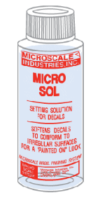 Micro Sol - 1 oz. bottle (Decal Setting Solution)
