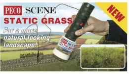 PECO SCENE Static Grass applicator