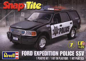 REVELL SnapTite Ford Expedition Police SSV