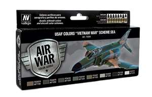 Vallejo USAF Colors 'Vietnam War' Scheme Sea (South East Asia) 'Air War Color Series'